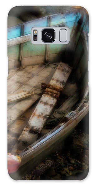 Old Boat 2 Stonington Maine Galaxy Case