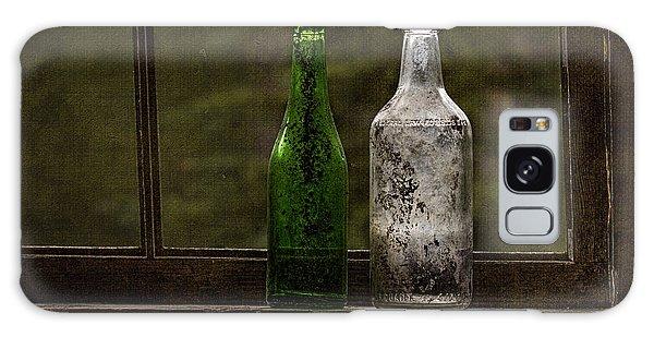 Old Bottles In Window Galaxy Case