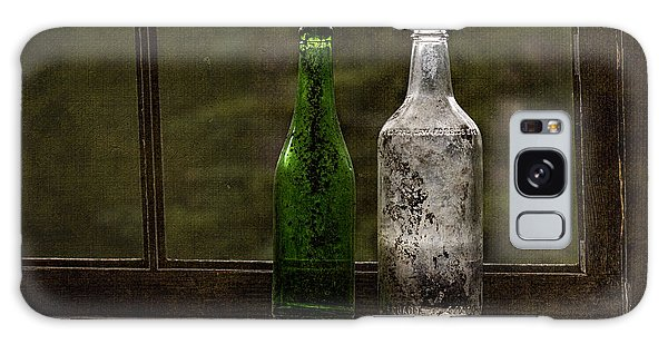 Old Bottles In Window Galaxy Case