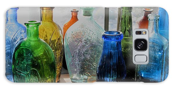 Old Bottles Galaxy Case by John Scates