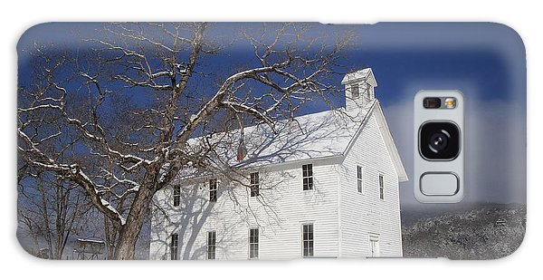 Old Boxley Community Building And Church In Winter Galaxy Case
