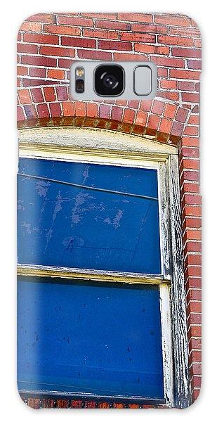 Old Brick Building Galaxy Case
