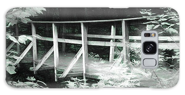Old Bridge In The Woods Galaxy Case by Rena Trepanier