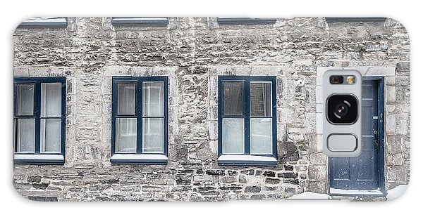 Quebec City Galaxy Case - Old Building In Quebec City by Edward Fielding