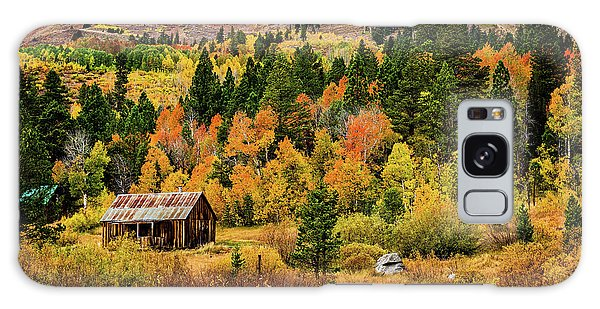 Old Cabin In Hope Valley Galaxy Case