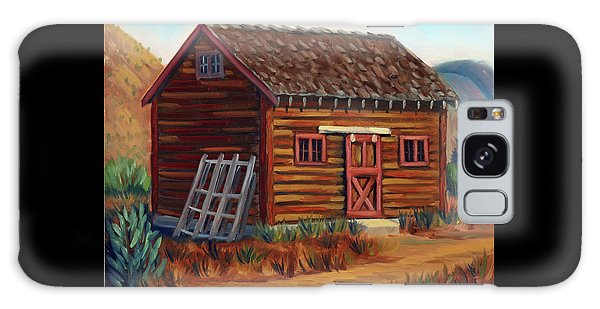 Old Cabin Galaxy Case