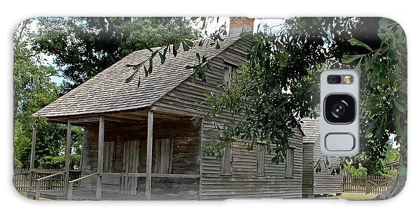 Old Cajun Home Galaxy Case by Judy Vincent