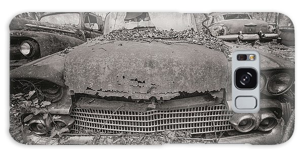 Old Car City In Black And White Galaxy Case