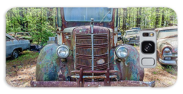 Old Car Smile Galaxy Case