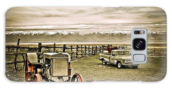 Old Case Tractor Galaxy Case