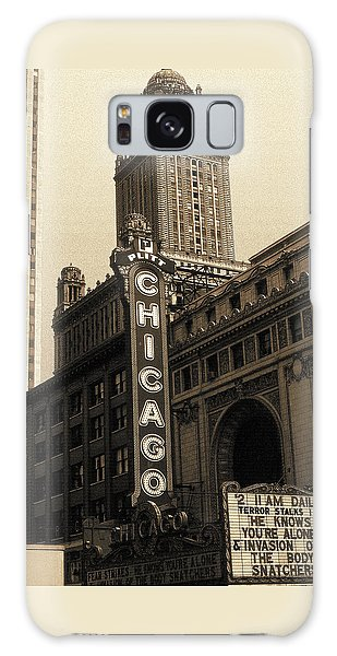 Old Chicago Theater - Vintage Art Galaxy Case