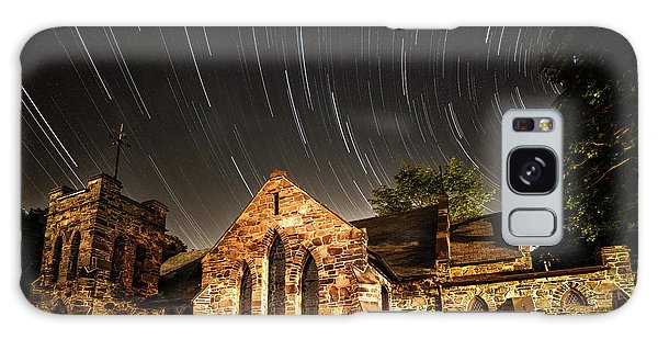 Beautiful Galaxy Case - Old Church by Edgars Erglis