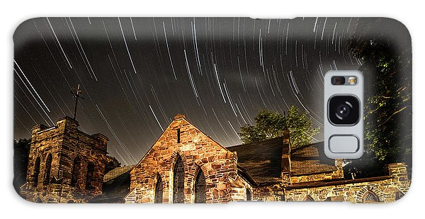 Milky Way Galaxy Case - Old Church by Edgars Erglis