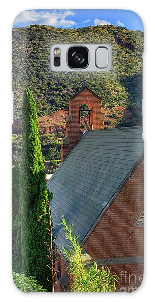 Old Church In Bisbee Galaxy Case