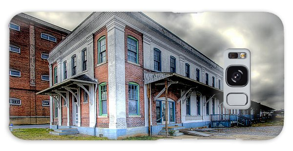 Old Clinchfield Train Station Galaxy Case