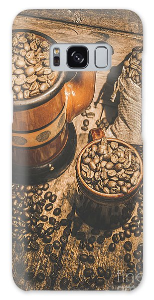 Cafe Galaxy Case - Old Coffee Brew House Beans by Jorgo Photography - Wall Art Gallery