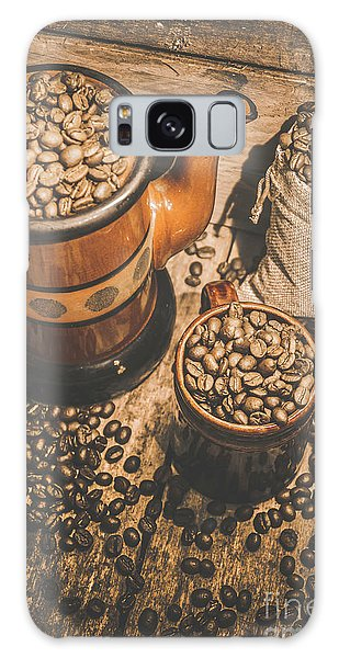 Decorative Galaxy Case - Old Coffee Brew House Beans by Jorgo Photography - Wall Art Gallery