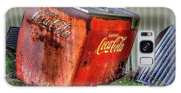 Old Coke Box Galaxy Case