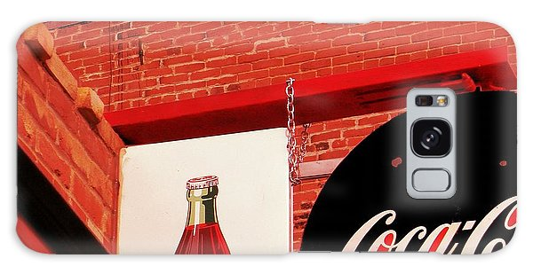 Old Coke Galaxy Case by Michelle Frizzell-Thompson