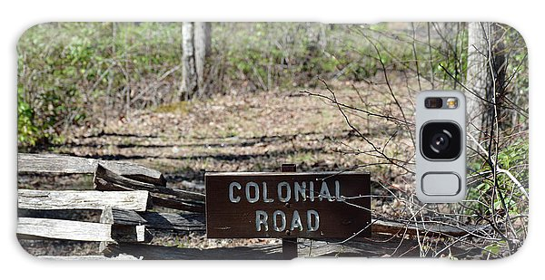 Old Colonial Road Galaxy Case by Bruce Gourley