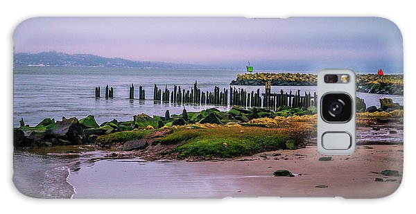 Old Columbia River Docks Galaxy Case