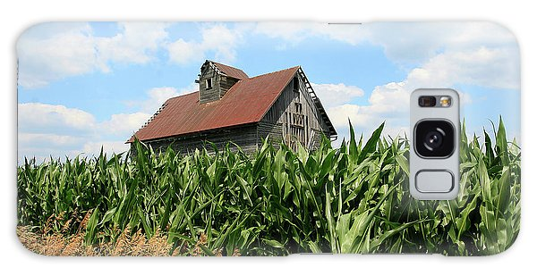 Old Corn Crib Galaxy Case