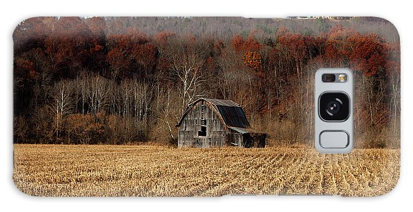 Old Country Barn In Autumn #1 Galaxy Case