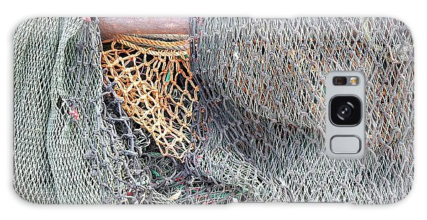 Old Discarded Fishing Nets Galaxy Case by Yali Shi