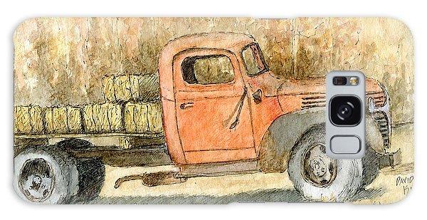 Old Dodge Truck In Autumn Galaxy Case