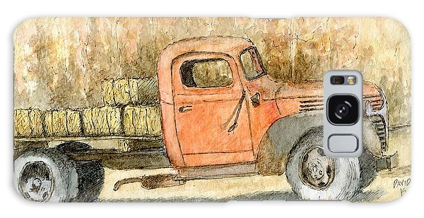 Old Dodge Truck In Autumn Galaxy Case