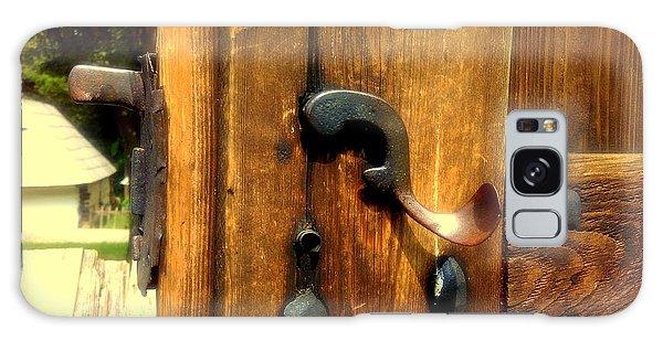 Old Door Handle Galaxy Case
