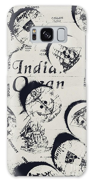 Navigation Galaxy Case - Old East India Trading Routes by Jorgo Photography - Wall Art Gallery