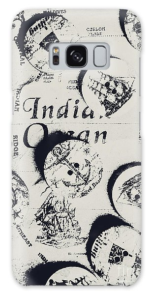 Shipping Galaxy Case - Old East India Trading Routes by Jorgo Photography - Wall Art Gallery