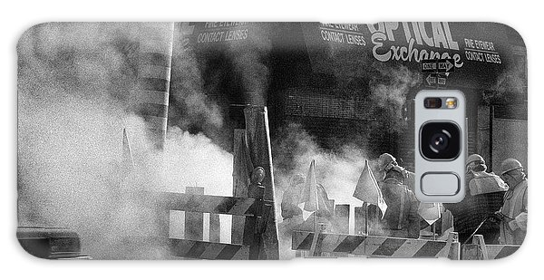 Galaxy Case featuring the photograph Old Faithful New York by Dave Beckerman