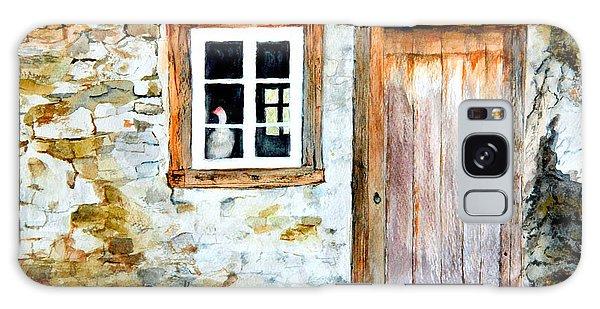 Old Farm House Galaxy Case