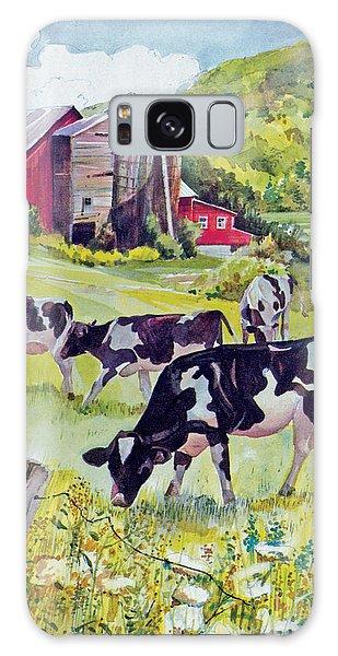 Old Farm Galaxy Case
