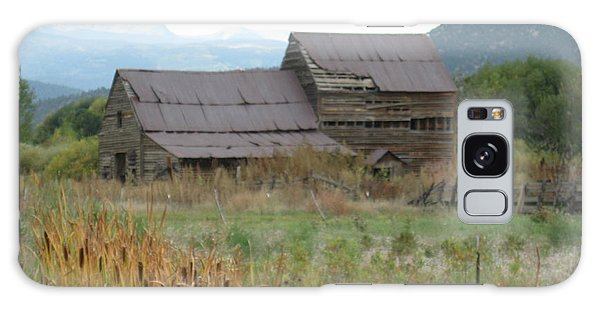 Old Farmhouse Galaxy Case