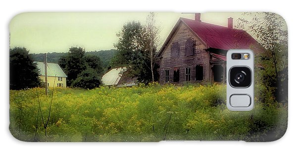 Old Farmhouse - Woodstock, Vermont Galaxy Case