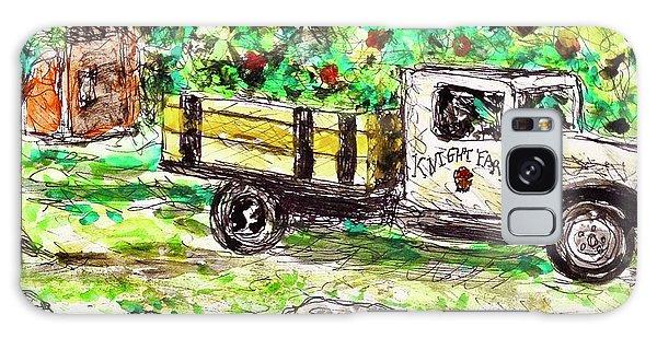 Old Farming Truck Galaxy Case