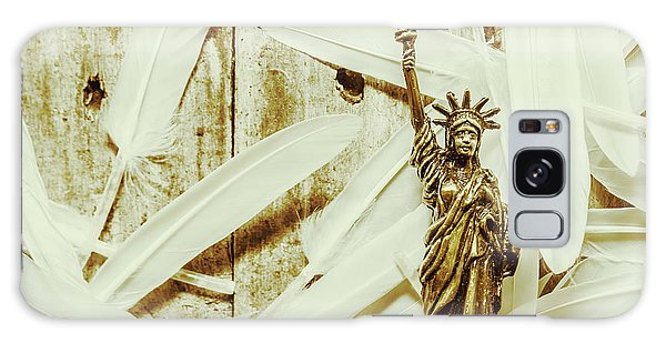 Civil Galaxy Case - Old-fashioned Statue Of Liberty Monument by Jorgo Photography - Wall Art Gallery