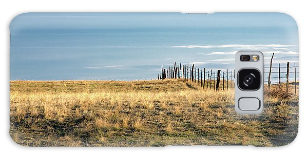 Fence Post Galaxy Case - Old Fence by Todd Klassy