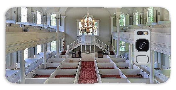 Old First Church Box Pews Galaxy Case