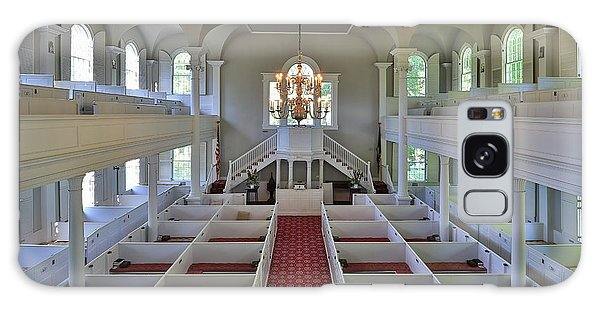 Old First Church Box Pews Galaxy Case