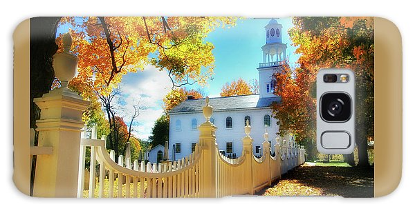 Old First Church Of Bennington Galaxy Case