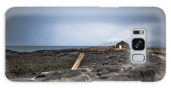 Old Fisherman's Coastal House Galaxy Case