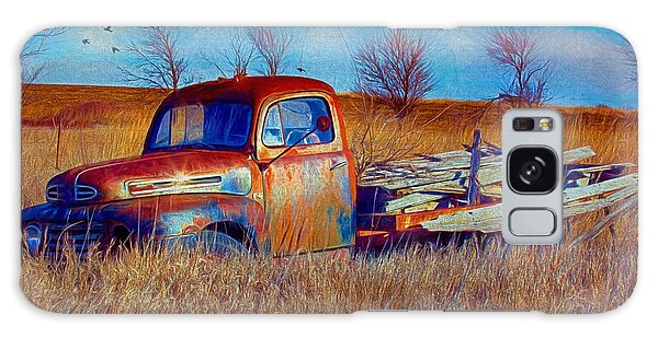 Old Ford F5 Truck Abandoned In Field Galaxy Case