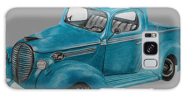 Old Truck Galaxy Case - Old Ford Truck by Jamie Silker