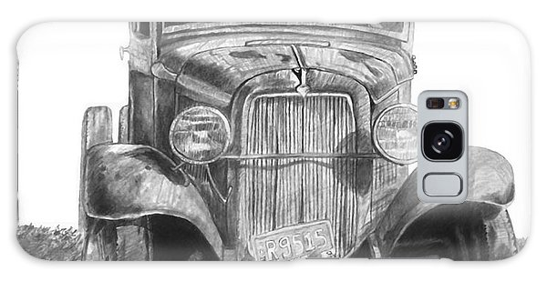 Old Truck Galaxy Case - Old Ford Truck by Scott Parker