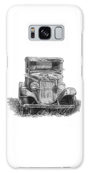 Old Ford Truck Galaxy Case