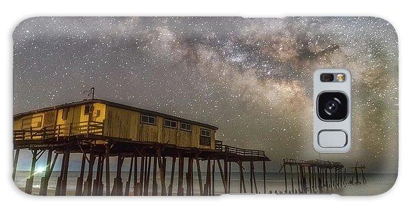 Old Frisco Pier Galaxy Case